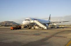 格拉纳达机场 免版税库存照片