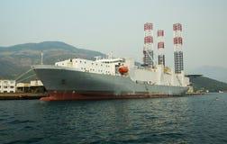 Океанский лайнер Стоковые Изображения