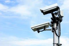 安全监控相机 免版税库存照片
