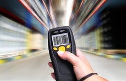 条形码扫描程序 免版税库存图片