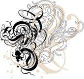 орнаментальные свирли Стоковые Фото