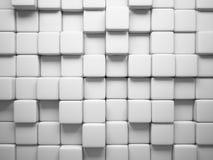 正方形的抽象模式 免版税库存图片