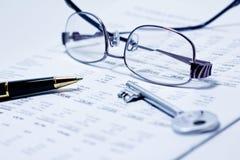 Финансовохозяйственный анализ Стоковое Изображение