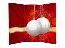 Απεικόνιση καρτών Χριστουγέννων Στοκ φωτογραφία με δικαίωμα ελεύθερης χρήσης