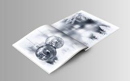 Απεικόνιση βιβλίων Χριστουγέννων Στοκ Εικόνες