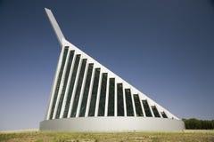 海军陆战队的国家博物馆外视图  库存照片