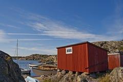 瑞典海岛 库存图片