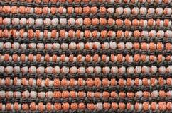 色的被编织的棉花 库存照片