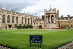 剑桥英国 图库摄影