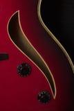 吉他爵士乐 免版税库存照片