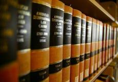νόμος βιβλίων Στοκ φωτογραφίες με δικαίωμα ελεύθερης χρήσης
