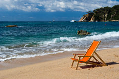 Спокойный пляж Стоковое Изображение RF