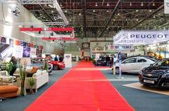 Выставка роскошных автомобилей автоматическая Стоковое Изображение