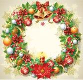 Венок рождества Стоковые Фото