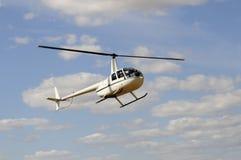 Ελικόπτερο κατά την πτήση Στοκ Εικόνα