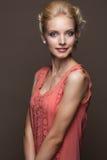 Красивейшая молодая белокурая женщина Стоковое фото RF