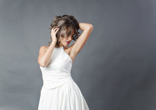 Портрет студии невесты Стоковые Фотографии RF