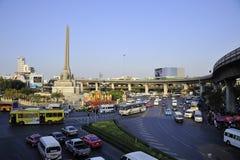 城市街道在曼谷 免版税库存图片