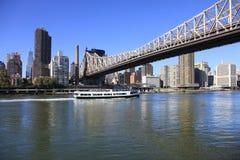皇后区大桥 免版税图库摄影
