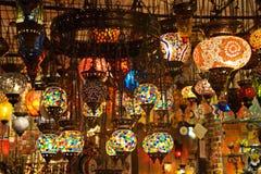 土耳其的闪亮指示 免版税库存照片