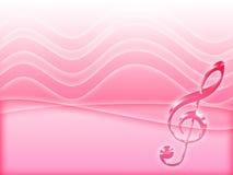 μουσική ανασκόπησης Στοκ Εικόνες