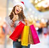 Покупка рождества. Сбывания Стоковые Фото