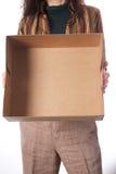 Κενό κιβώτιο χαρτοκιβωτίων Στοκ φωτογραφία με δικαίωμα ελεύθερης χρήσης