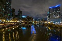 Στο κέντρο της πόλης Σικάγο Στοκ Φωτογραφίες