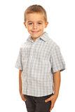 微笑的学龄前子项 免版税库存图片