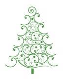 节假日结构树 库存图片