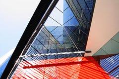 Σύγχρονη αρχιτεκτονική στο Λονδίνο Στοκ φωτογραφία με δικαίωμα ελεύθερης χρήσης