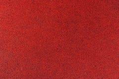 红色沥青纹理背景 免版税库存照片