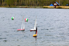 塑造体育运动的船 免版税库存图片