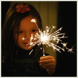魔术圣诞节 免版税库存照片