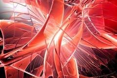 изгибает красный цвет Стоковые Фото