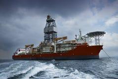 Σκάφος τρυπανιών Στοκ εικόνες με δικαίωμα ελεύθερης χρήσης