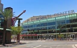 全美航空中心,菲尼斯,亚利桑那视图  免版税库存照片