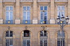 大厦的门面。 免版税库存照片