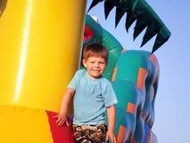 Радостный мальчик Стоковые Фотографии RF