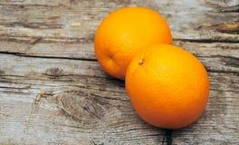 新鲜的甜橙 库存照片