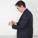 Менеджер в наручниках Стоковые Изображения