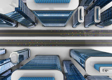 现代城市 库存图片