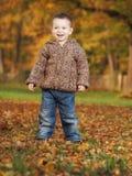 Напольный мальчик Стоковая Фотография RF