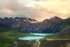 Озера сестр Стоковое Изображение RF