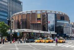 Τετραγωνική πόλη της Νέας Υόρκης κήπων του Μάντισον Στοκ Εικόνες