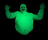 肥胖鬼魂 免版税库存图片