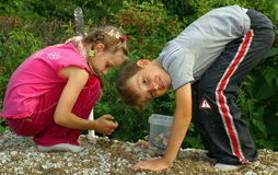 παιδική χαρά παιδιών Στοκ Εικόνα