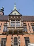 历史的市政厅在弗罗茨瓦夫 图库摄影