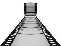 影片作为对远期的一个方式 免版税库存图片