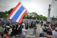 反政府集会在曼谷 库存图片
